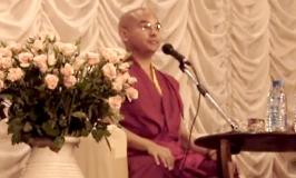 Видеозапись Йонге Мингьюра Ринпоче, о том как практиковать медитацию